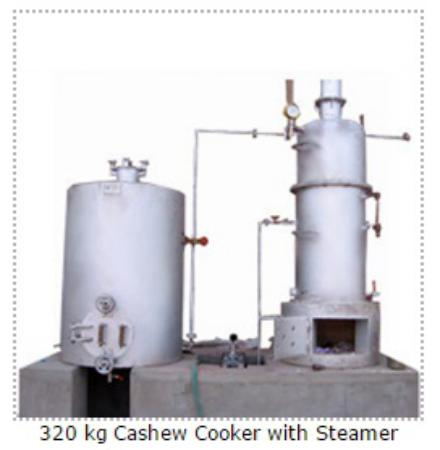 Cashew Nut Processing Unit Plan 120 Kg Auto